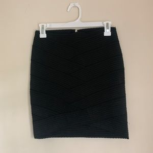[NEW] BodyCon Black Bandage Skirt